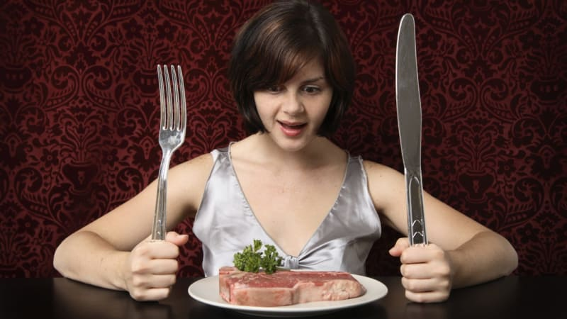 The woman should get the steak: how gender norms are compromising diet