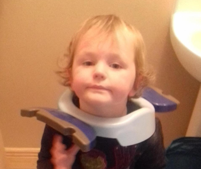 'He's a bit of a monkey' – Fire officers rescue Irish toddler who got toilet training seat stuck over his head