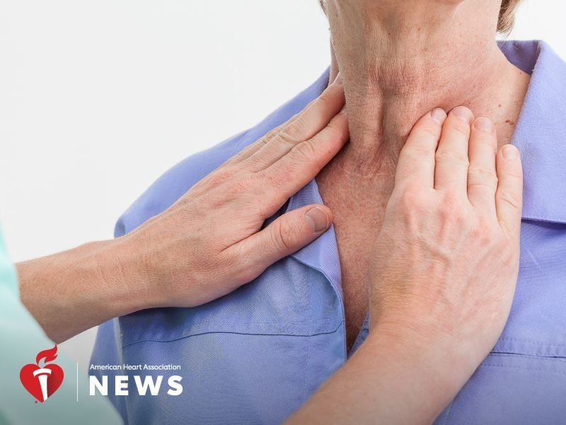 Thyroid problems linked to worsening heart failure