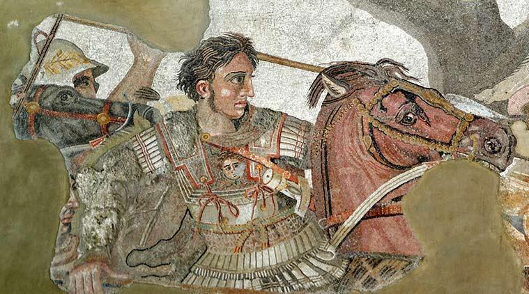 Alexander the Great vs the Morose Monks in India