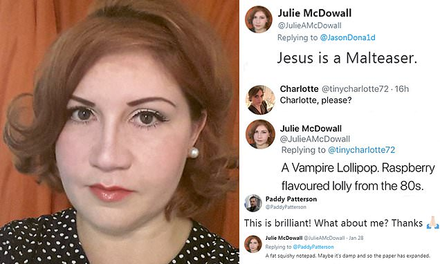This woman claims she can taste people's names and Jesus is a Malteser