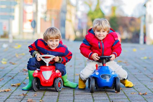 Dear David Coleman: My twin boys have started calling each other by different names to the ones we gave them. Why is that?