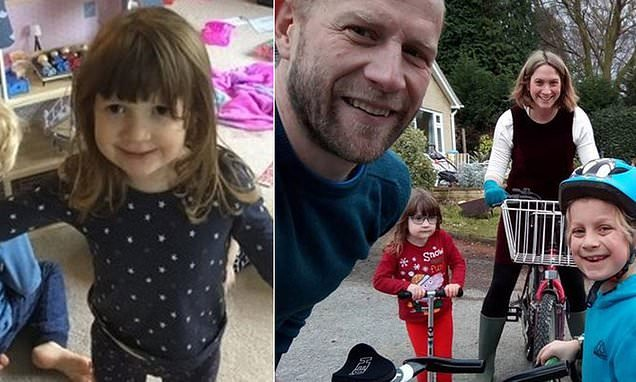Devastated family tell how girl, four, turned blue and suddenly died