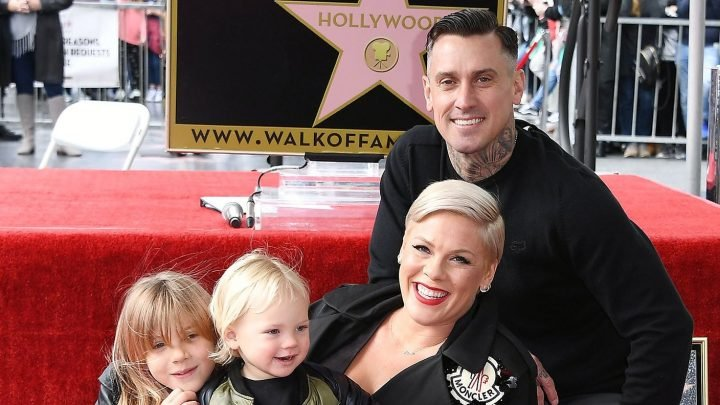 Raise Your Glass! See Pink Having 'Family Dinner' With Kids on Tour