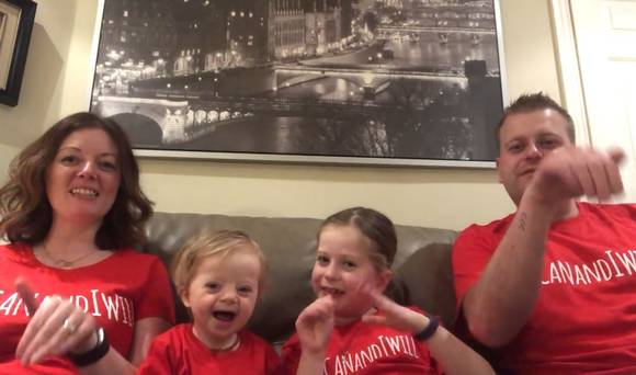 Irish families recreate Ellie Goulding song to send a positive message about Down Syndrome