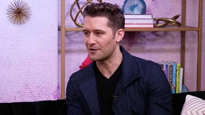 How Matthew Morrison's 18-Month-Old Son Is Following in His Dad's Footsteps