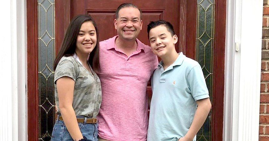 Jon Gosselin Poses With Hannah and Collin, Wishes Sextuplets Happy 15th