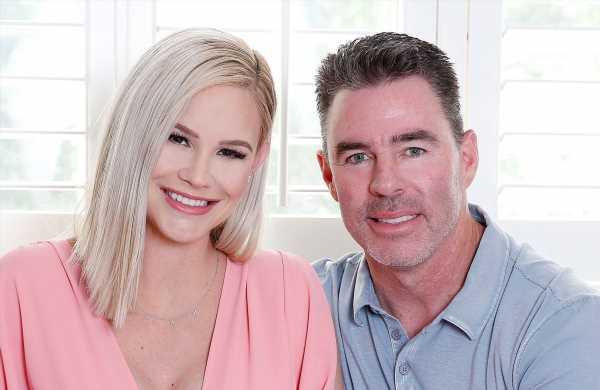 Meghan King Edmonds, Husband Jim at Hospital With Son Amid Cheating Scandal: Pics