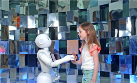 Pepper, the world's first social humanoid robot, will be at this Irish university to greet families this weekend