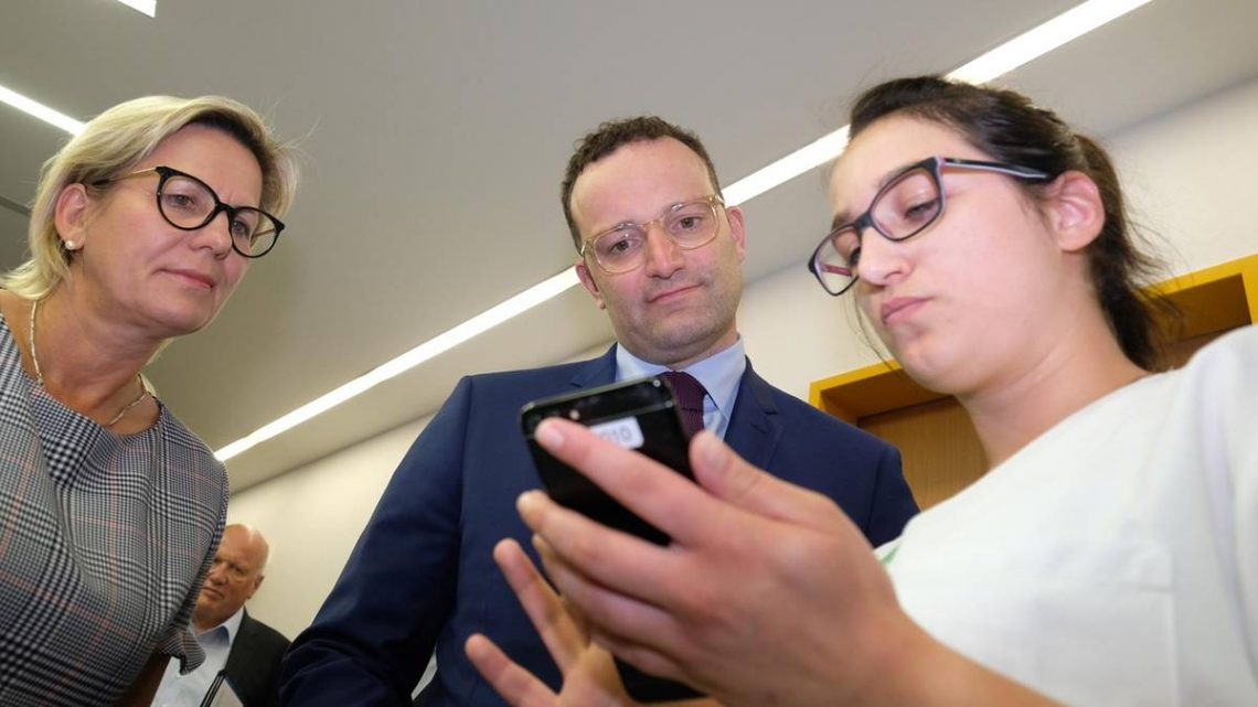 App on recipe – like the Minister of health Spahn flashcards the fight announce