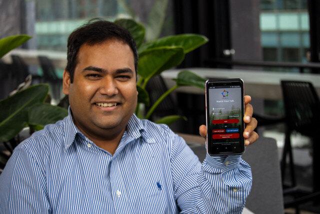 Smartphone app analyzes speech patterns to predict depression