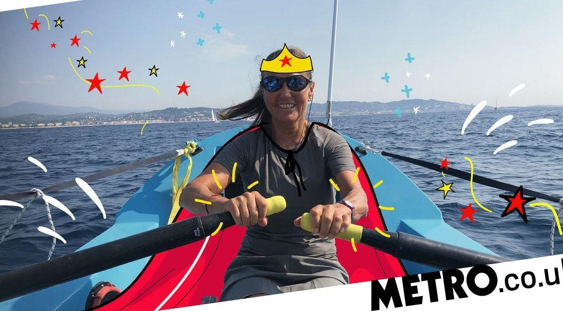 'I learnt to swim last year, now I'm training to row the Atlantic solo at 61'