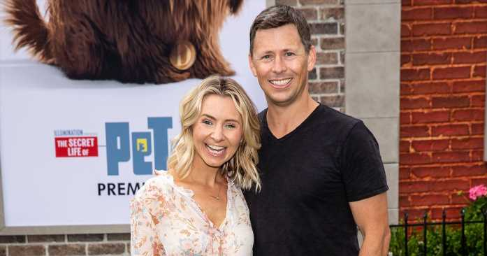 LOL! Beverley Mitchell Compares Motherhood to 'a Hangover'