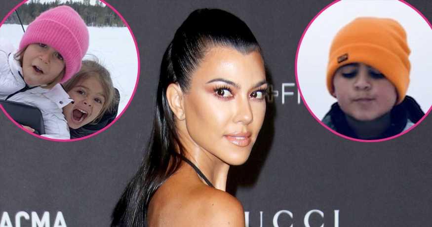 Kourtney Kardashian Claps Back at Hater After Bringing Kids to Finland