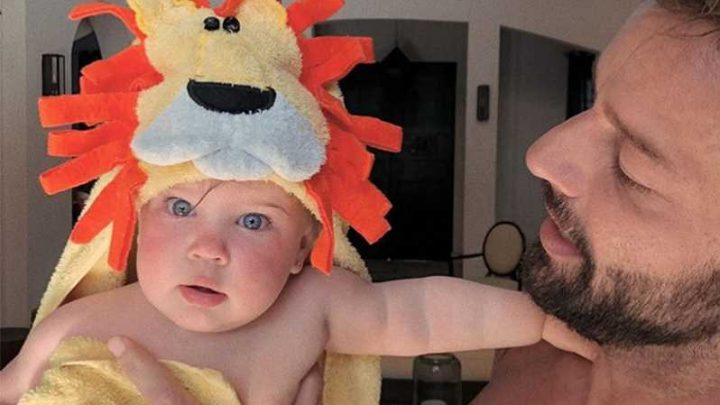 Roar! Ricky Martin Shares Rare Photo of Daughter Lucia in a Lion Towel: 'Owner of My Dreams'