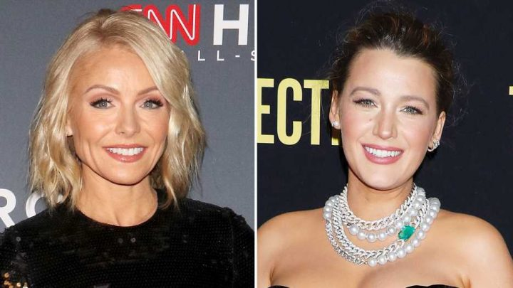 Kelly Ripa Offers to Be 'World's Oldest Surrogate Mom' for Blake Lively