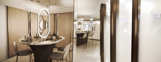 Harrods Completes Beauty Hall Revamp With Events and Services Space