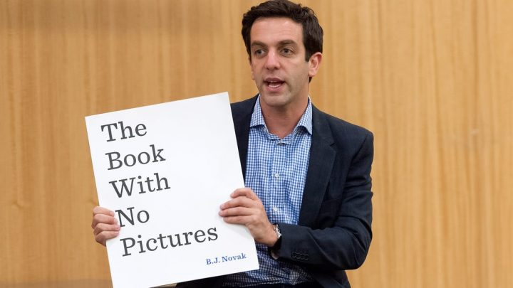 Actor B.J. Novak from 'The Office' is reading his bestselling children's book to kids stuck at home amid the coronavirus pandemic