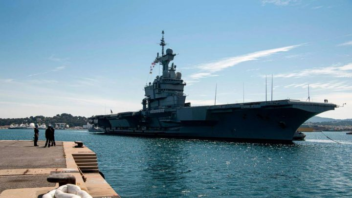 Hundreds of Corona-Infected on French aircraft carrier