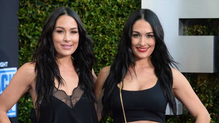 "Nikki & Brie Bella Reveal Which Sister Will Pick The ""Weirder"" Baby Name"