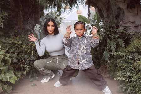 Kim Kardashian Lovingly Corrects Son Saint After He Hilariously Says She's Only 11 Years Old