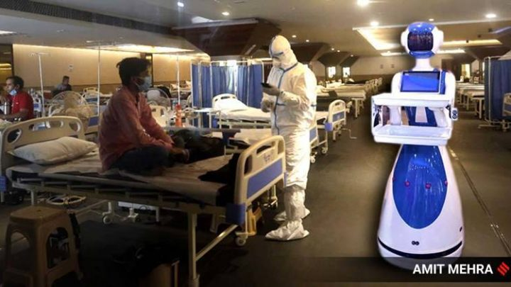 Humanoid robots are here to help doctors in Covid-19 fight