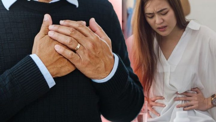 Heart attack warning – does your stomach feel like this? The painful sign to avoid