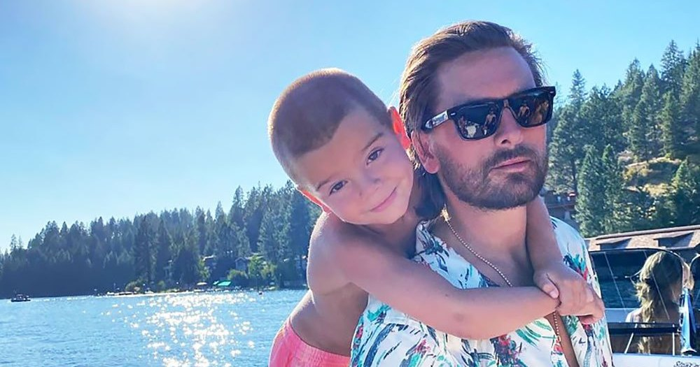 Scott Disick Debuts Son Reign's Mohawk 2 Months After Shaving His Head