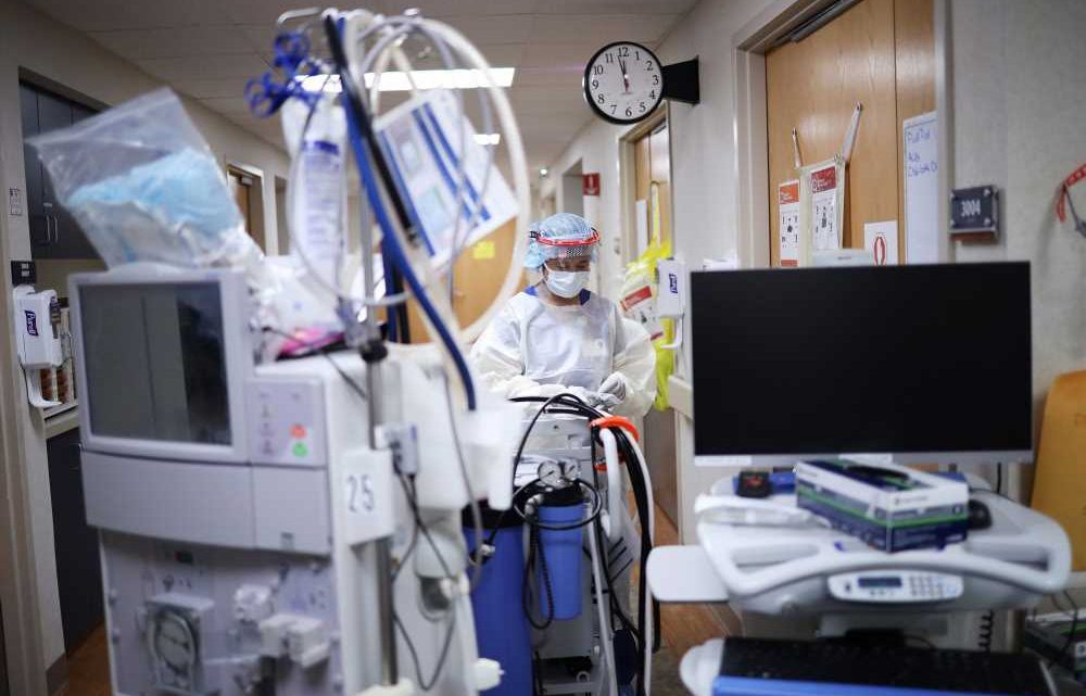 Midwestern Hospitals Are 'Bursting at the Seams' with COVID Patients as Cases Continue to Soar