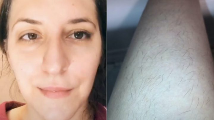 This Woman Made False Lashes With Her Own Leg Hair