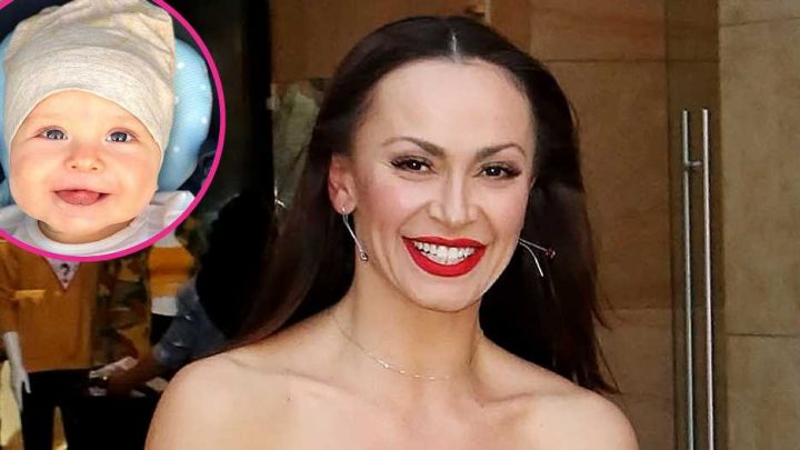 There He Is! DWTS' Karina Smirnoff Shares 1st Photo of Son Theo's Face