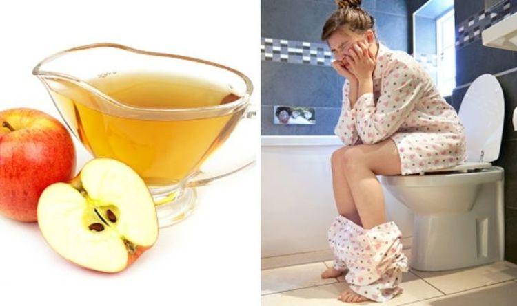 Does apple cider vinegar make you poo?