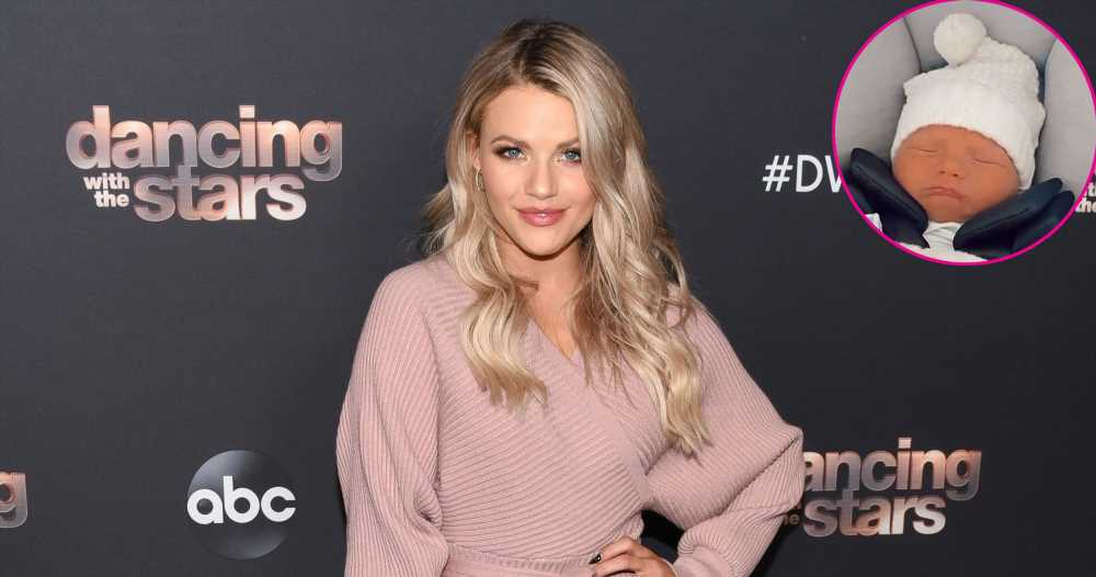 DWTS' Witney Carson Brings Newborn Son Kevin Home From Hospital: Pics