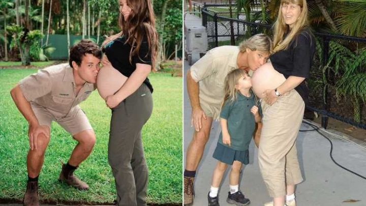 Pregnant Bindi Irwin Recreates 'Very Special Moment' Between Her Parents in Maternity Photo