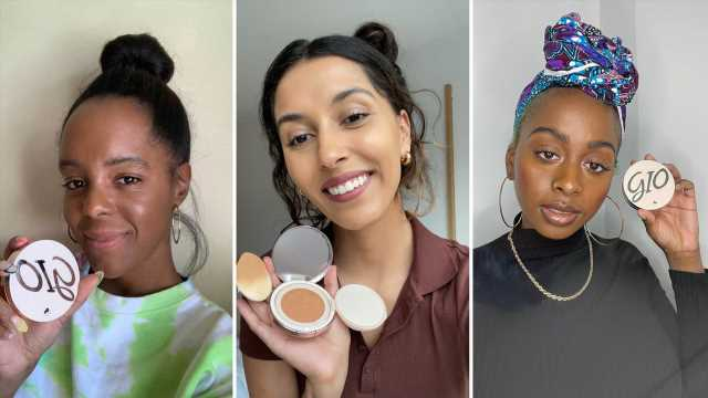 This Black-Owned Beauty Brand Is Making Cushion Foundation for Dark Skin